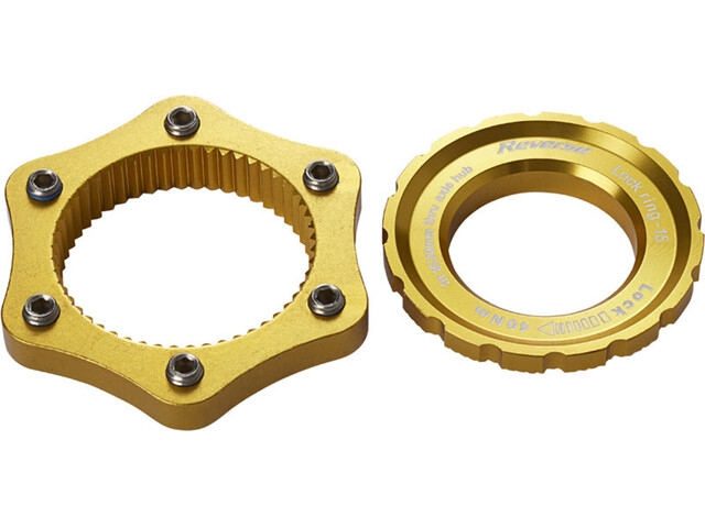 Reverse Centerlock Adapter gold
